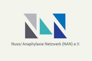 Logo des Nuss / Anaphylaxienetzwerk NAN e. V.