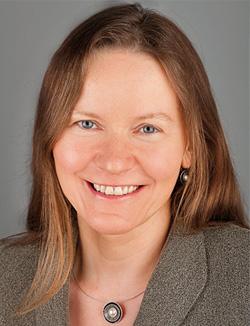 Portrait Prof. Dr. Kirsten Beyer, 1. Vorsitzende des Vereins AGATE
